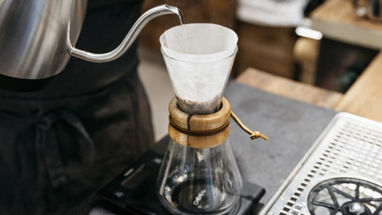 Fare il caffè con la Chemex